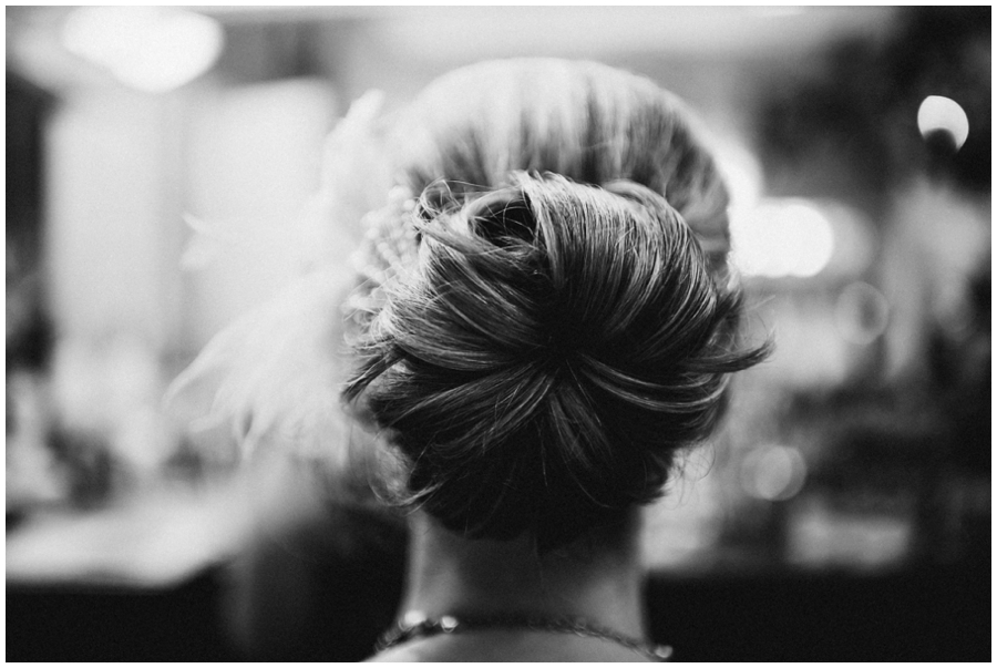 Black and white Wedding Photography in Houston