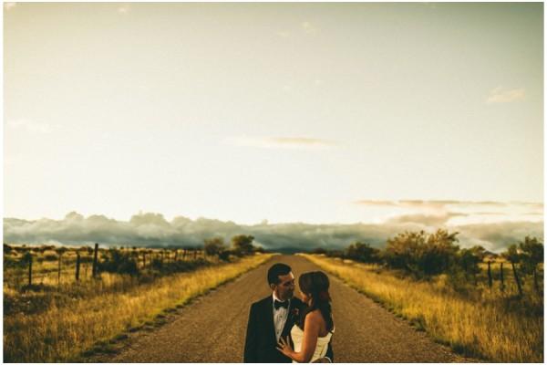 Laura + Warren | Married in Marathon, Texas