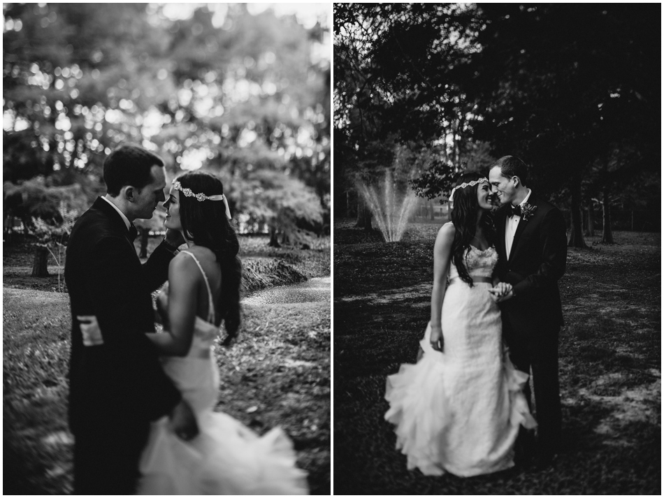 Black and White Wedding Houston