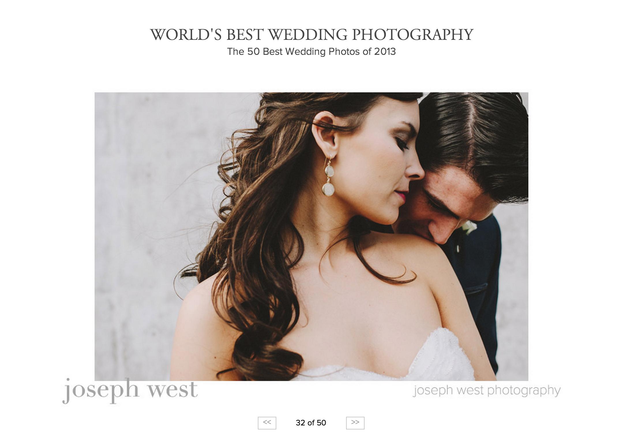 Junebug Top 50 Wedding Photographer's in the World