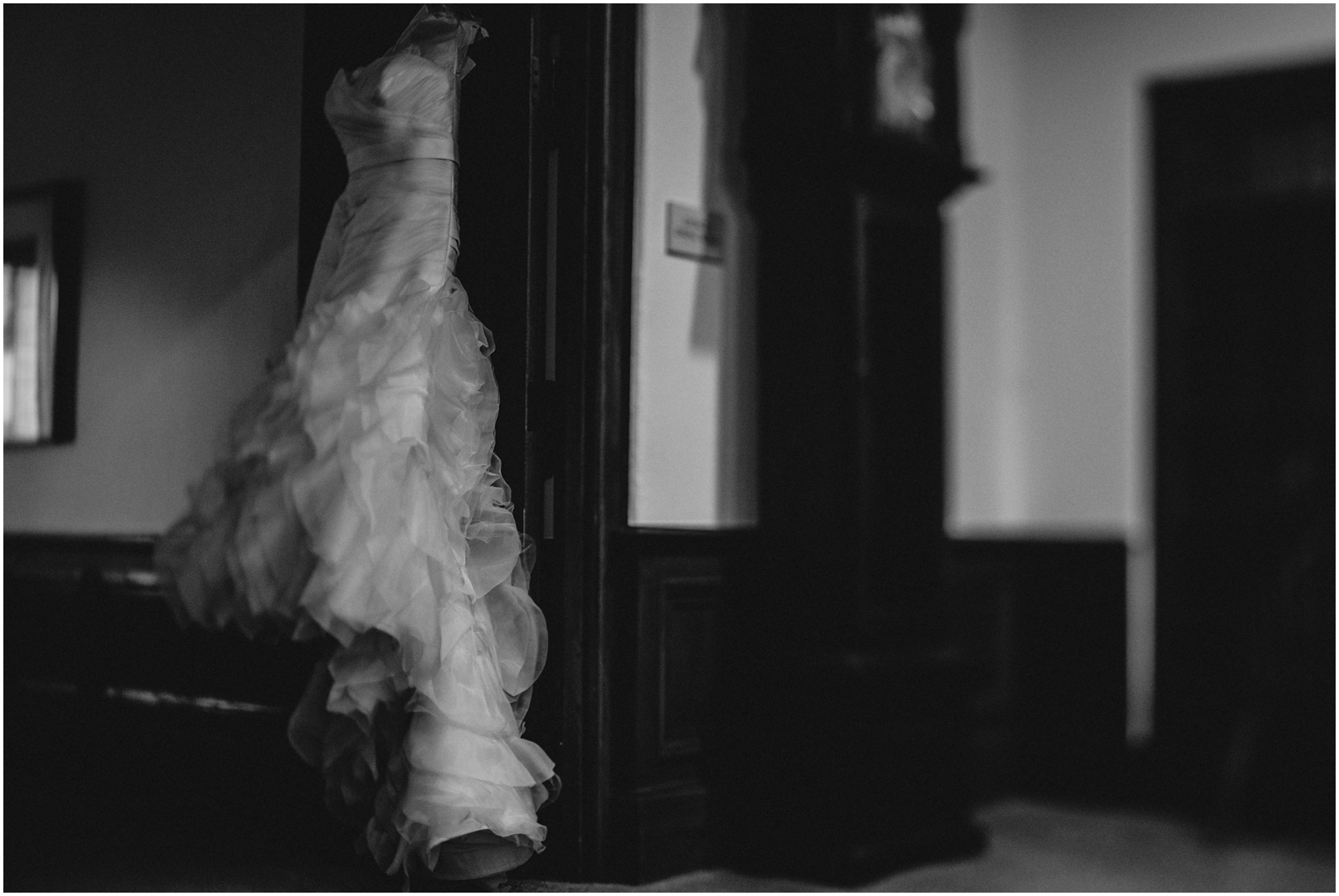 Black and white Wedding photography Texas