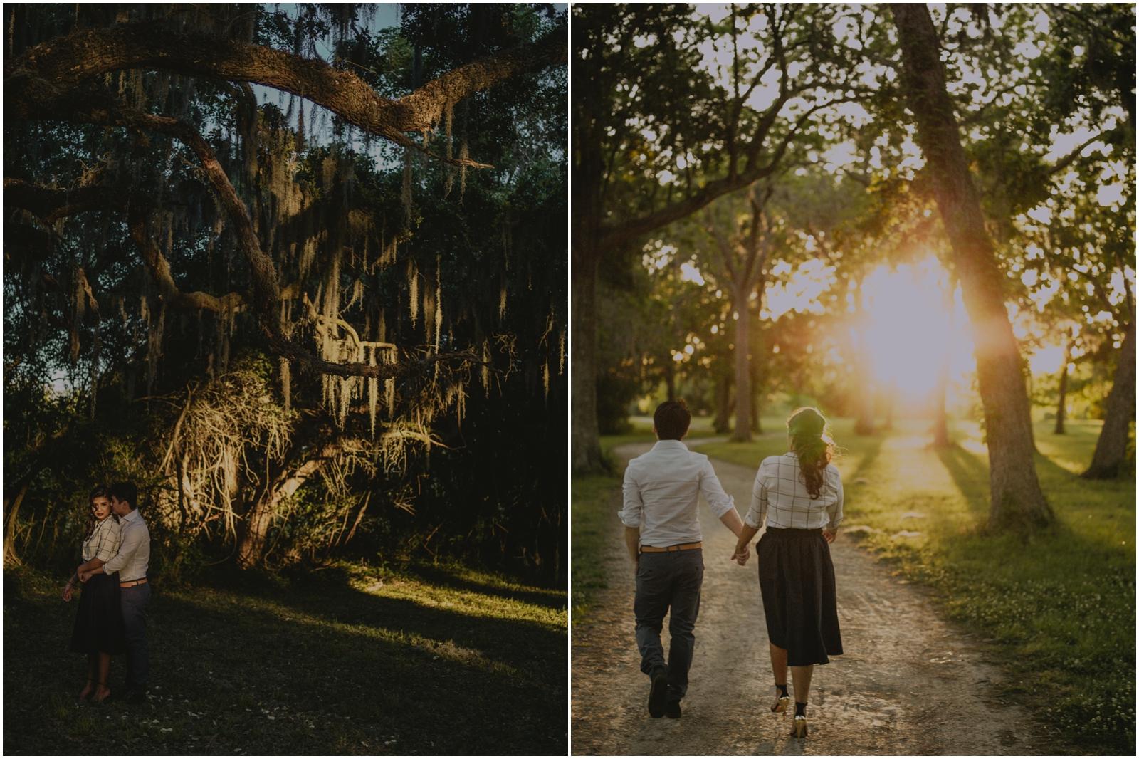 houston park engagement photography