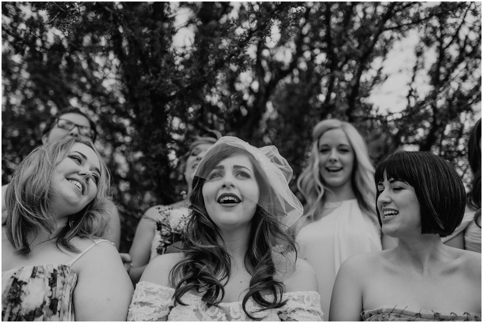 Bridal Photography in Black and white
