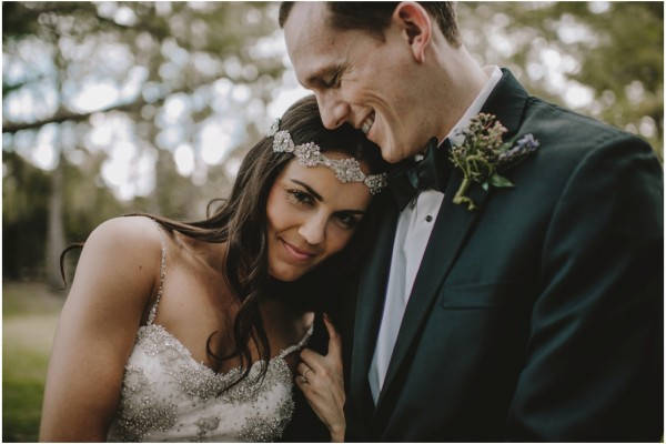 Ashley + Matt | Romantic Wedding at Chateau Cocomar