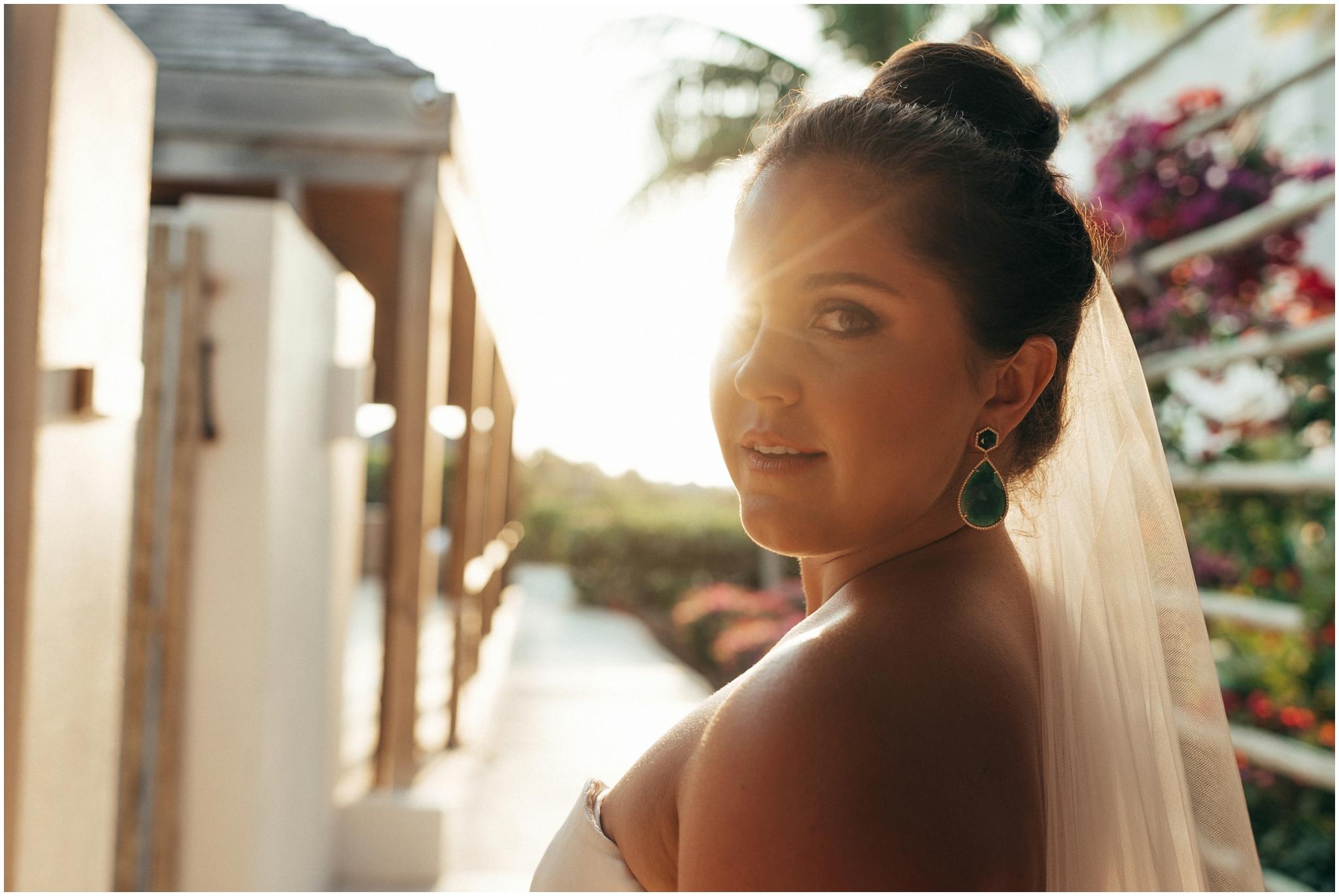 Beautiful bride from Gansevoort Turks & Caicos