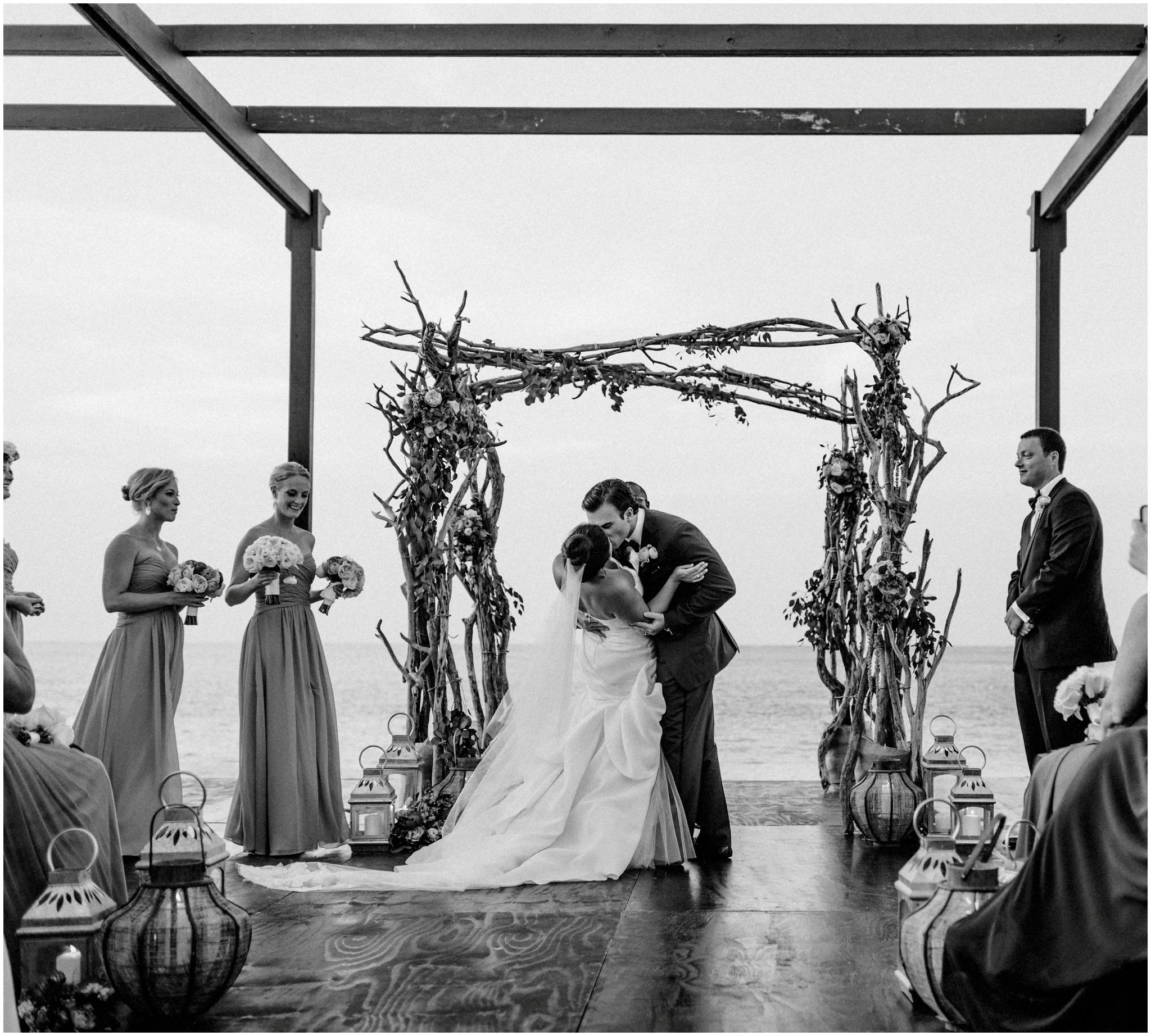 Black and white Wedding Photographer Gansevoort Turks