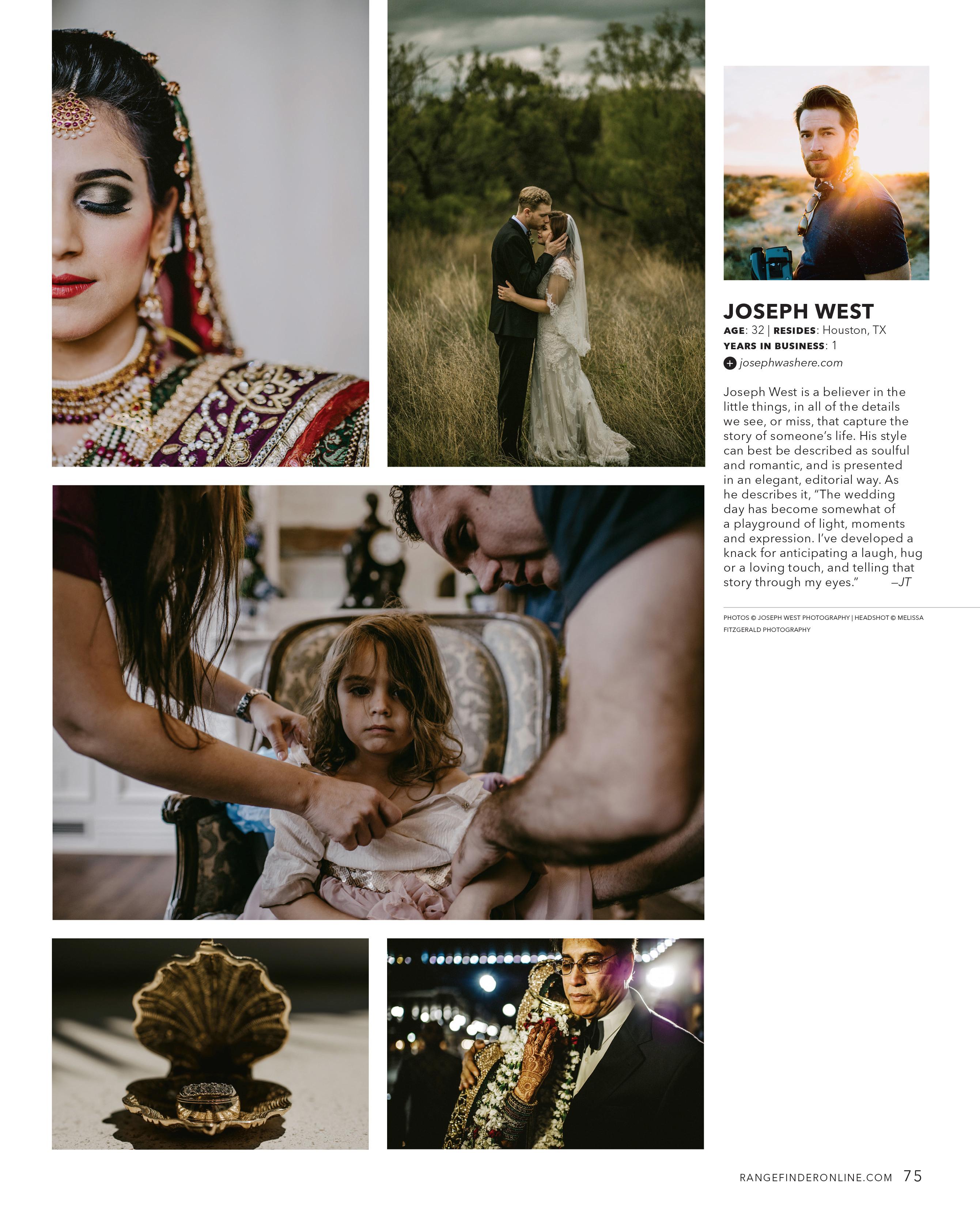 rangefinder 30 rising stars of wedding photography