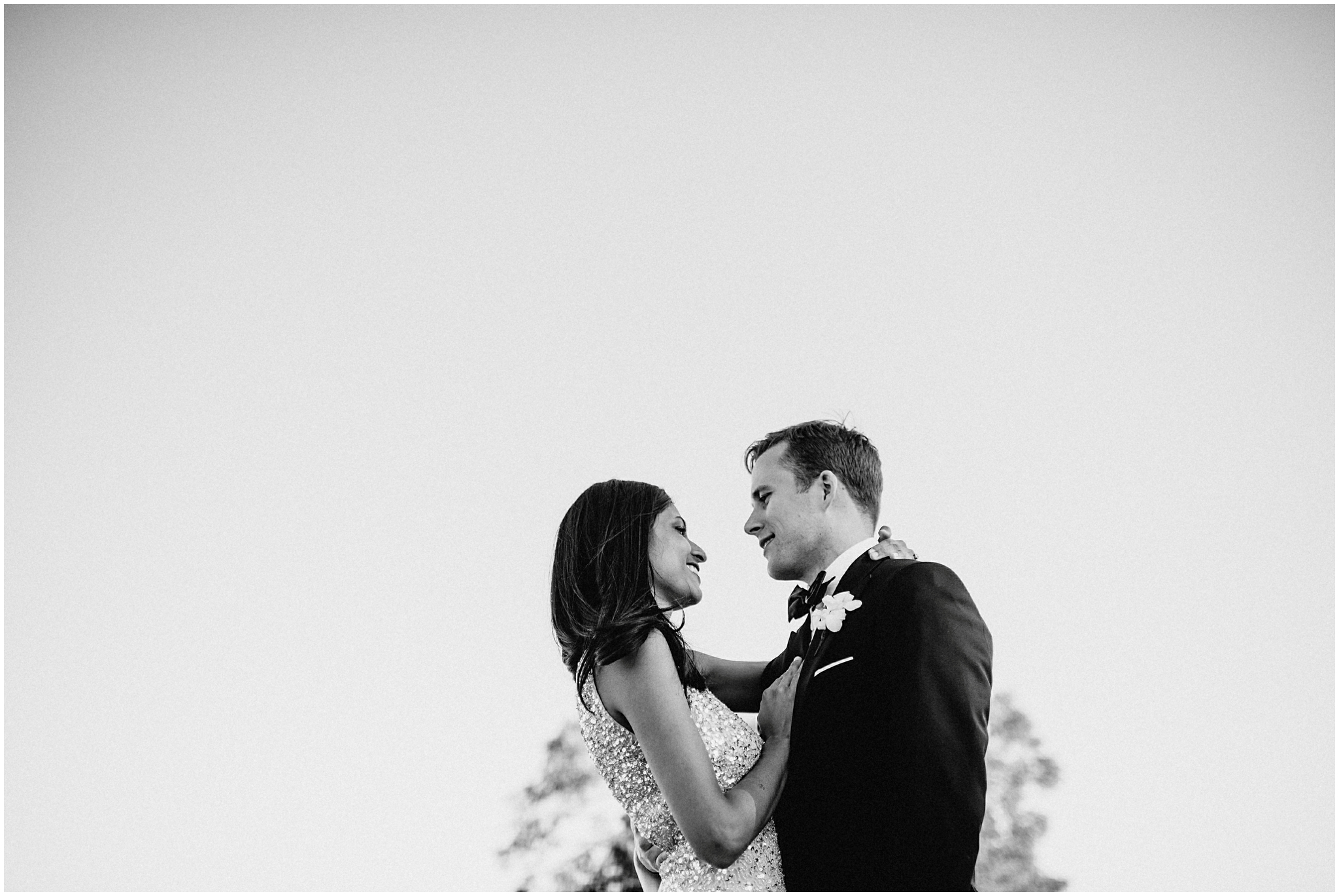 Couple in Black and white Photography