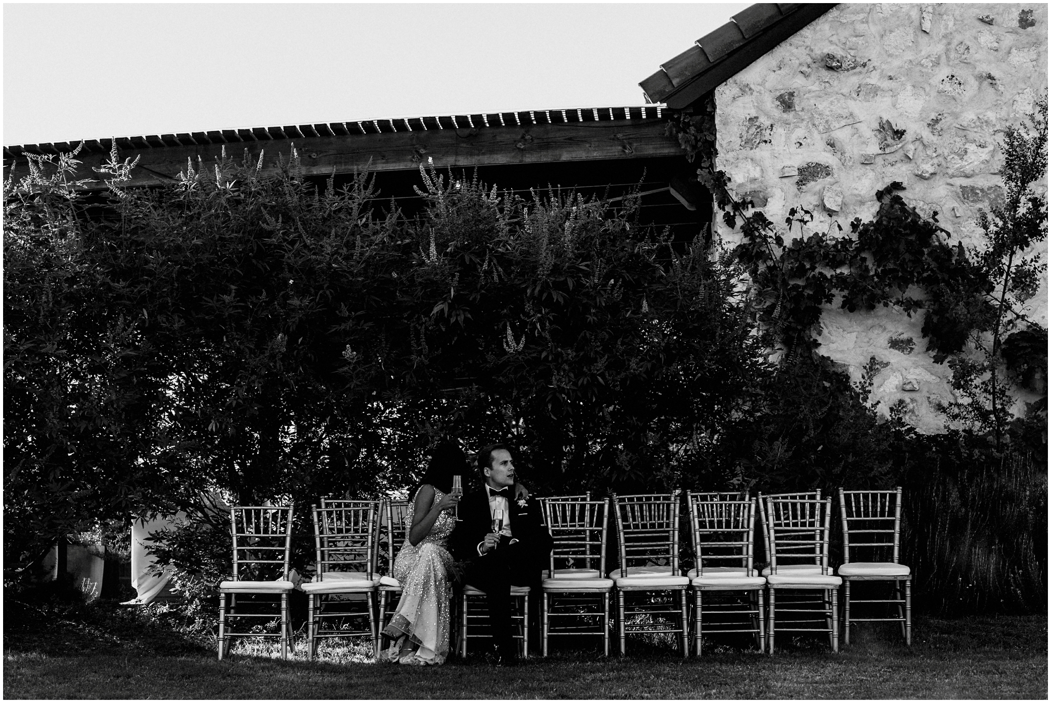Black and white Indian Wedding Photographer Texas