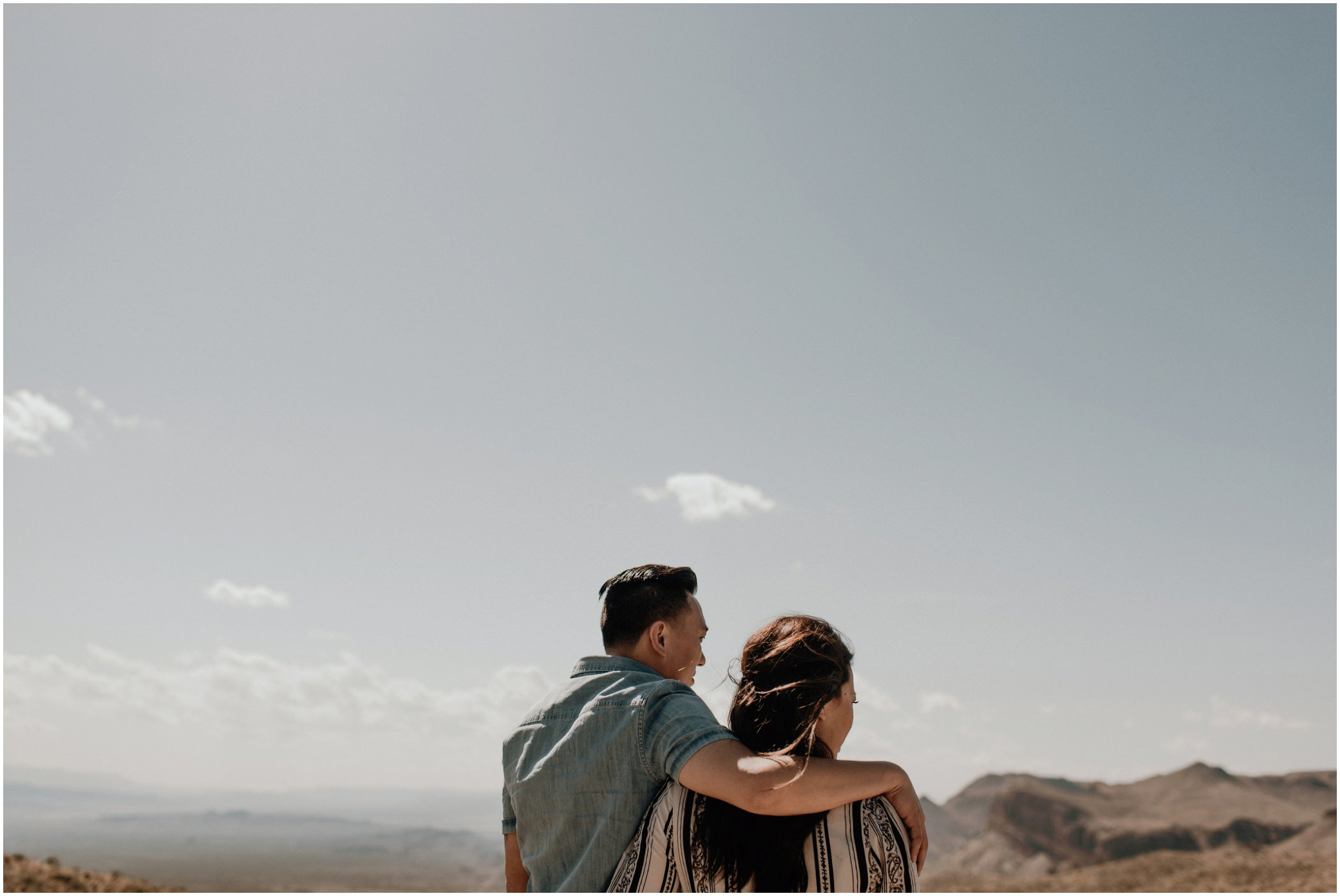 Engagement photography in Texas
