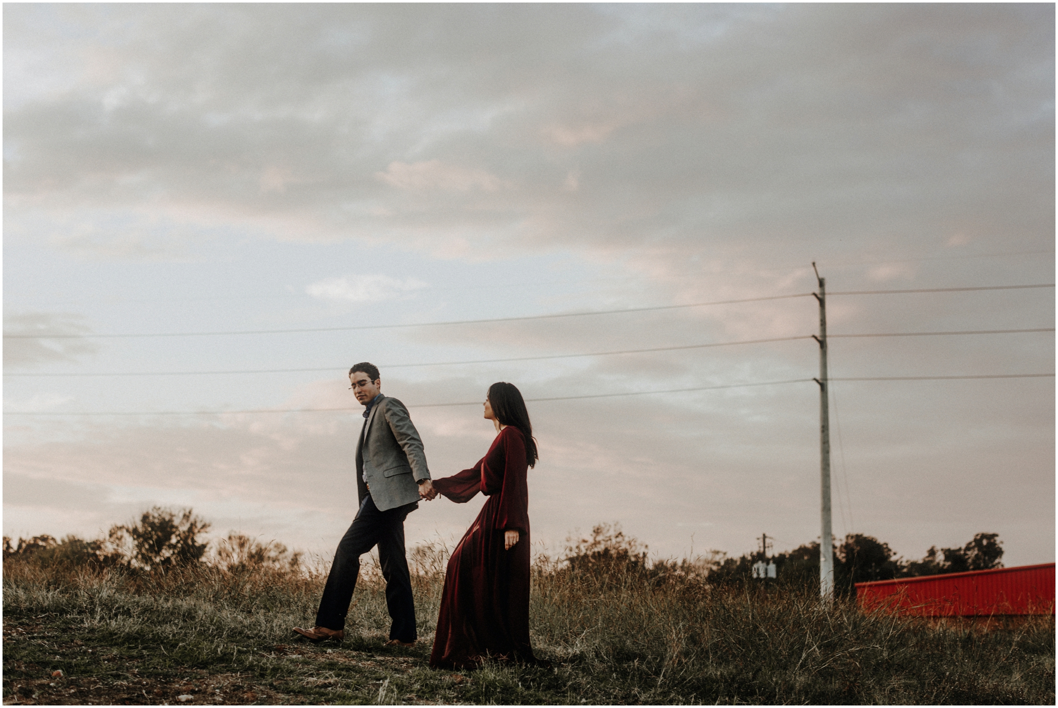 kimberly carlos heights engagement photography
