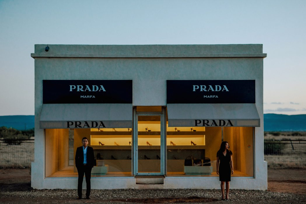 katherine my editorial engagement shoot in marfa