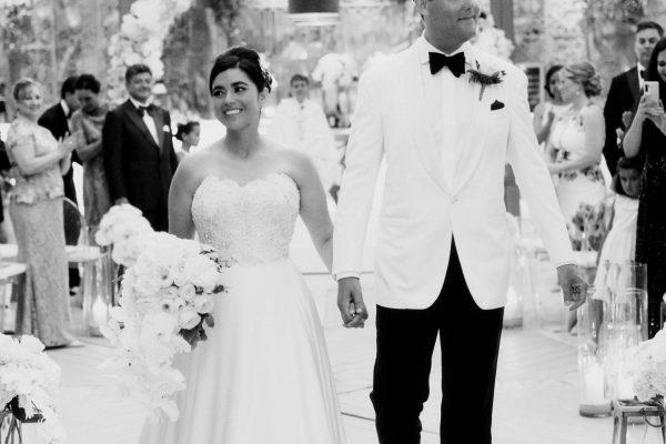 gloria david shore club turks caicos wedding slideshow